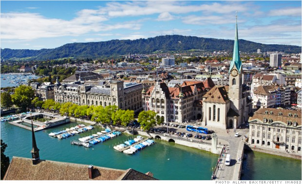 new business cities zurich switzerland
