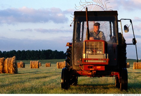 America's most dangerous jobs: 7. Farming and ranching