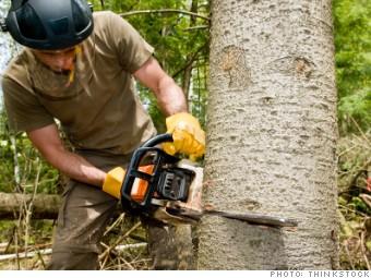 loggers, dangerous jobs