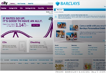 Ally vs Barclays