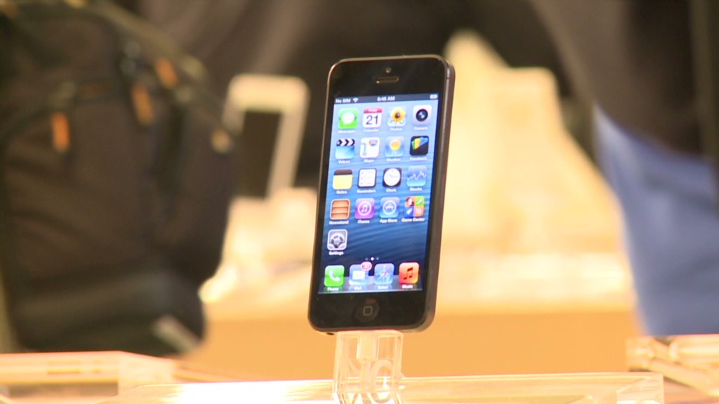 Swarm descends on Apple iPhone 5 launch