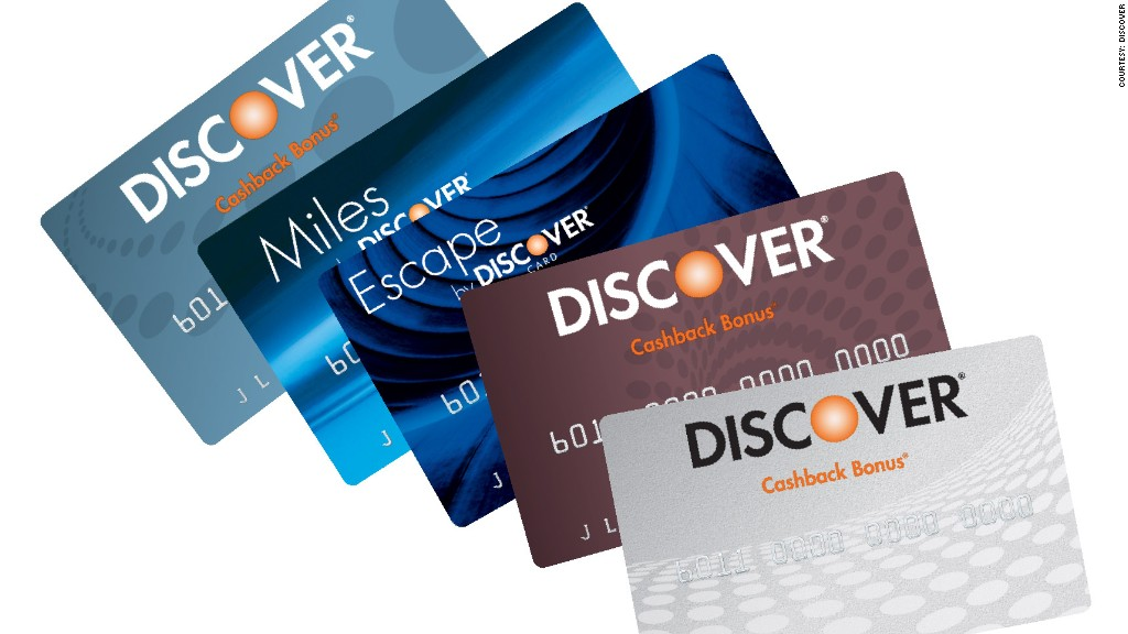 Discover cards