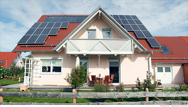home solar panels