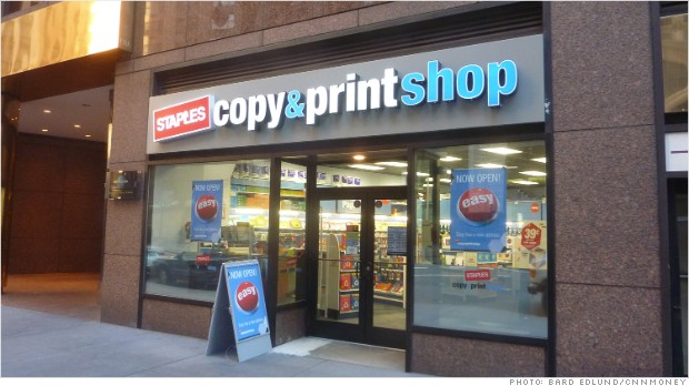 Staples Copy & Print Shop