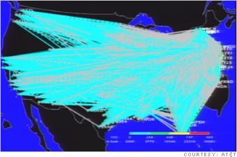AT&T 9/11 Map