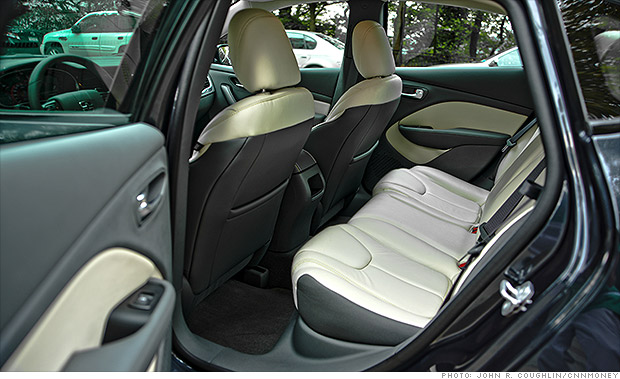 gallery 2013 dodge dart rear seats