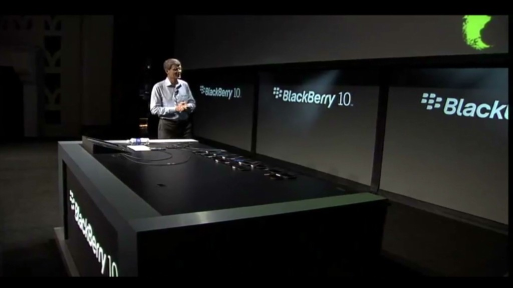 For BlackBerry, the clock is ticking