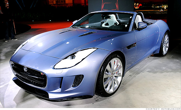 gallery jaguar f type 2012 paris auto show