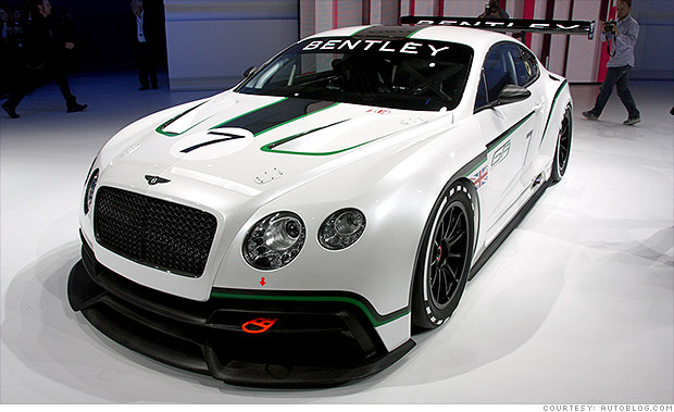 gallery bentley continental gt3 racer 2012 paris auto show