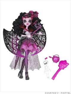 gallery hot toys mattel monster high draculaura
