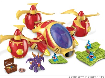 gallery hot toys MEGABrands skylander copter attack