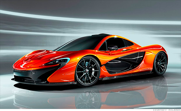 McLaren P1 - Cool cars from the Paris Motor Show - CNNMoney