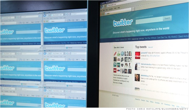 twitter homepage