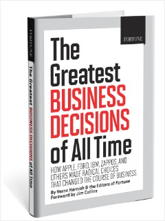 BES08 greatest business decisions book cover