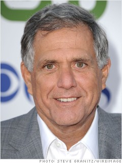 highest paid men les moonves