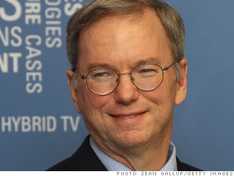 highest paid men eric schmidt