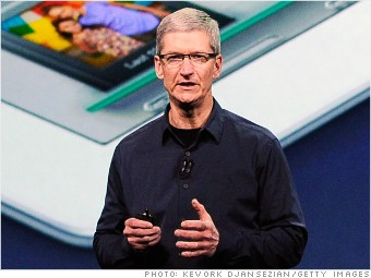 highest paid men tim cook