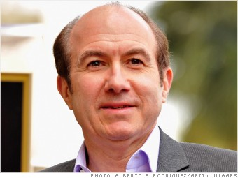 highest paid men phillipe dauman