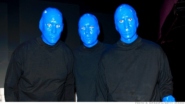 HOW08 blue man group