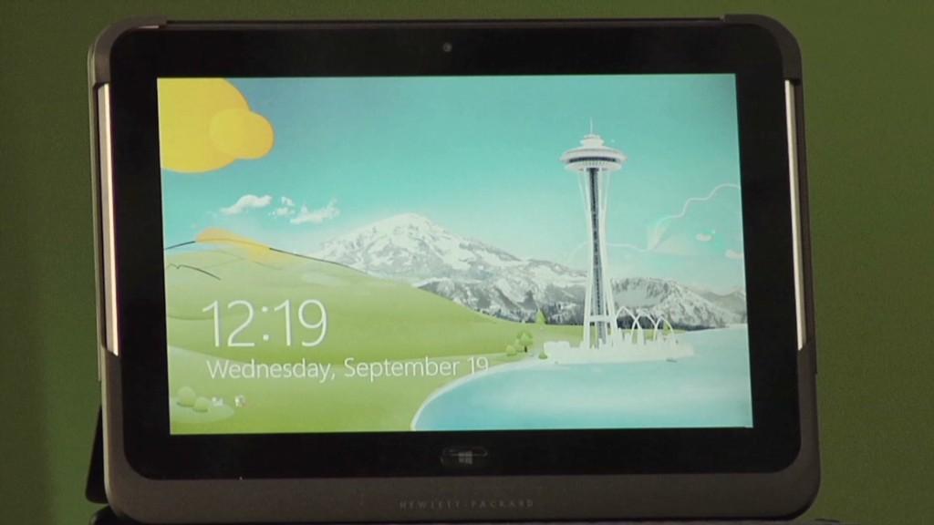 HP tries a tablet - again!