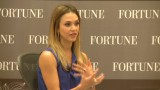 Jessica Alba overcomes adversity