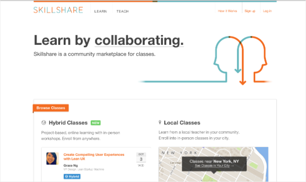 sharing sites skillshare