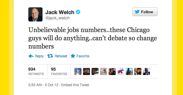 Jack Welch Twitter