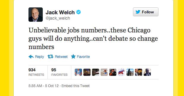 Jack Welch Twitter