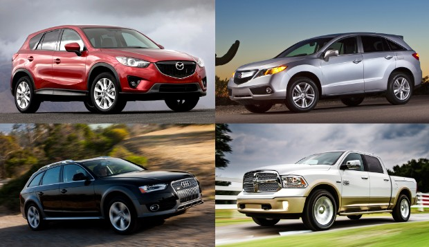 north american car of the year trucks