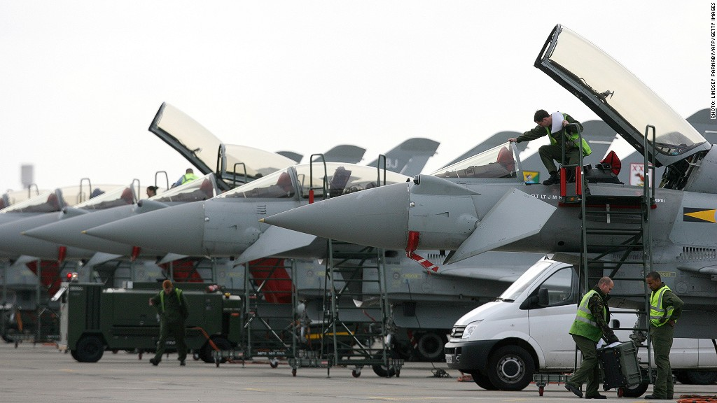 BAE Systems eurofighter