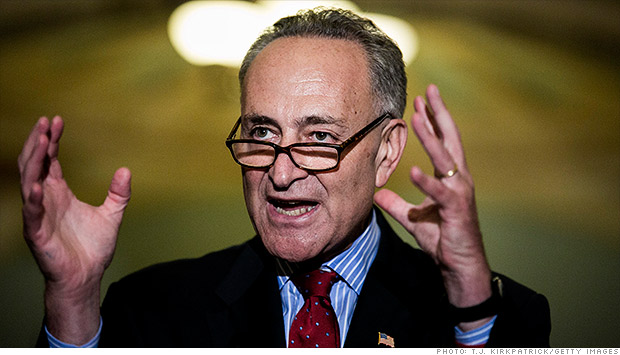 senator charles schumer tax