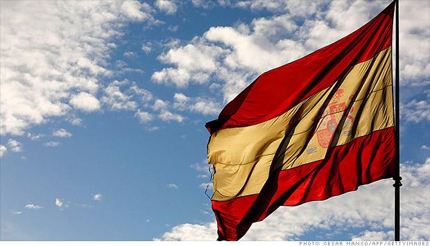 spanish flag debt