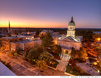 gallery best places to retire athens ga