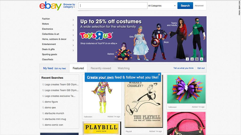 ebay new feed