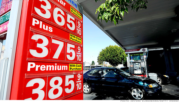 gas prices october