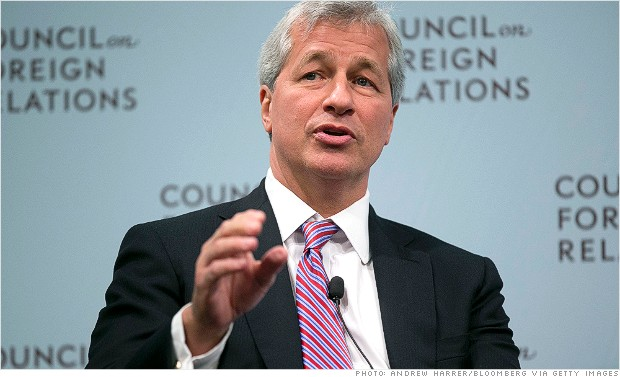 Jamie Dimon gets mad at Washington - Oct. 10, 2012