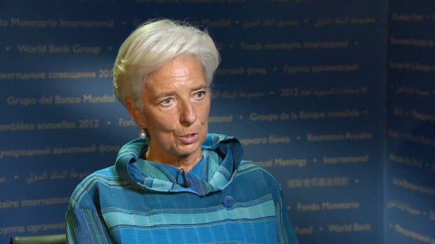 Lagarde: Fiscal cliff a big risk