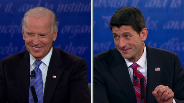 Vice President debate in 99 secs