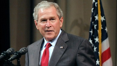 George W. Bush did not vote for Clinton, despite what Rush Limbaugh claimed