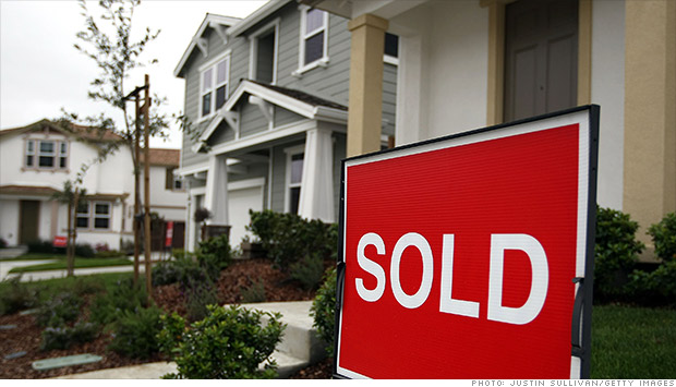 housing sold sign