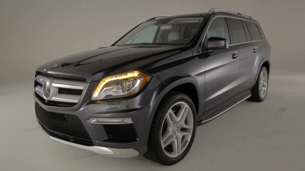 Mercedes GL wins Motor Trend SUV of the Year