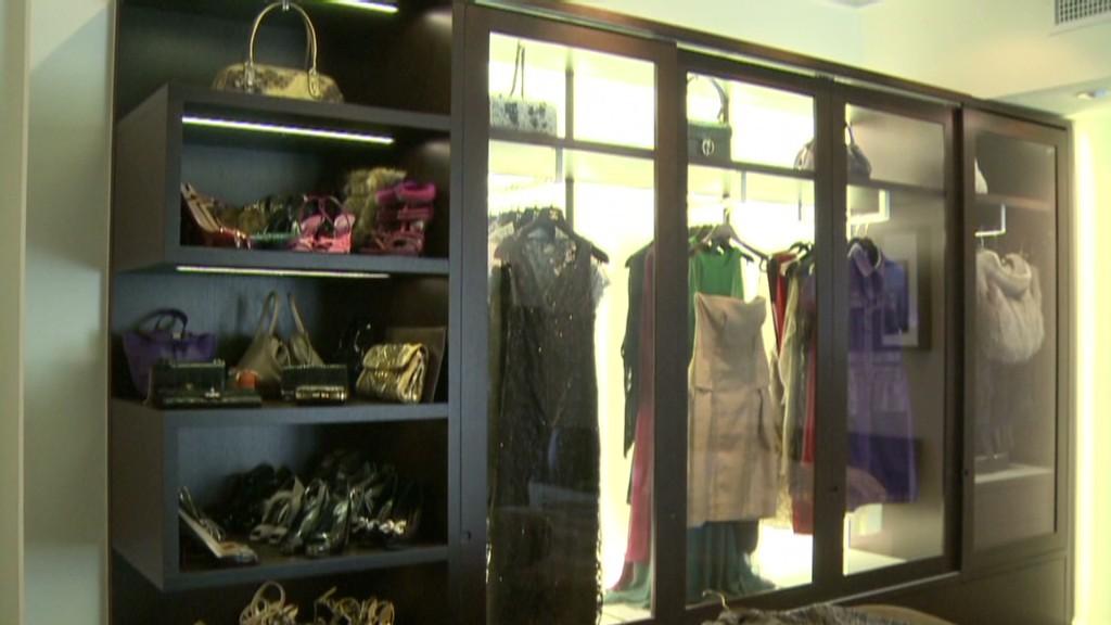 Peek inside a $100,000 luxury closet