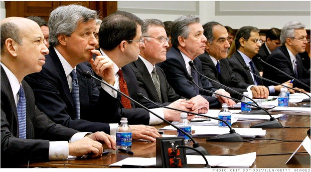 Lloyd Blankfein Jamie Dimon Robert P. Kelly Ken Lewis Ronald Logue John Mack Vikram Pandit John Stumpf