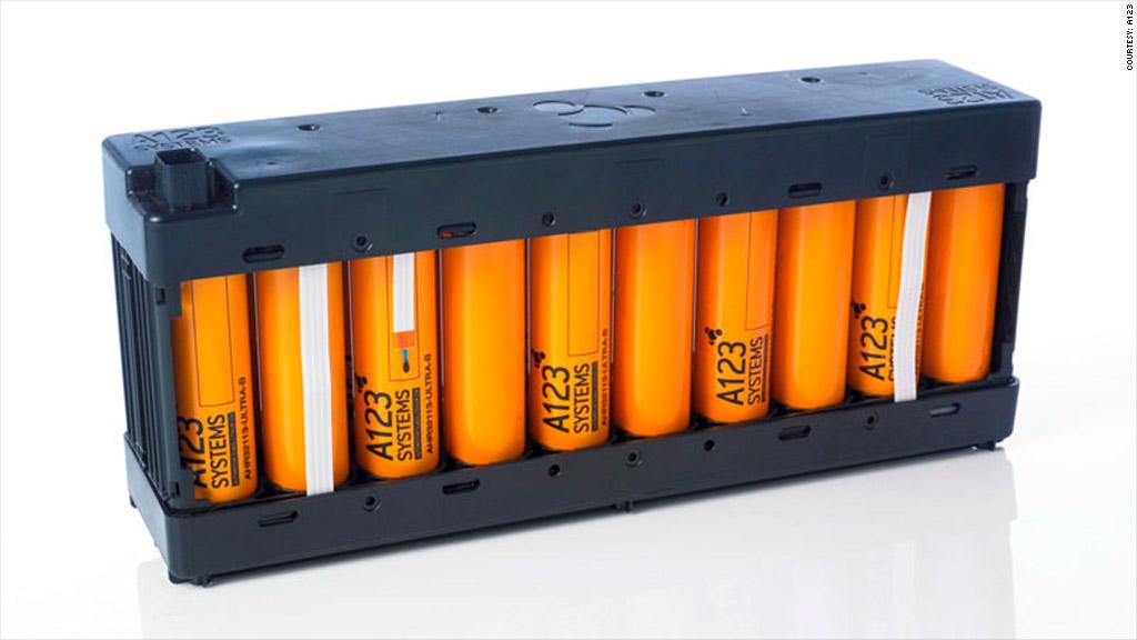 a123 hybrid battery