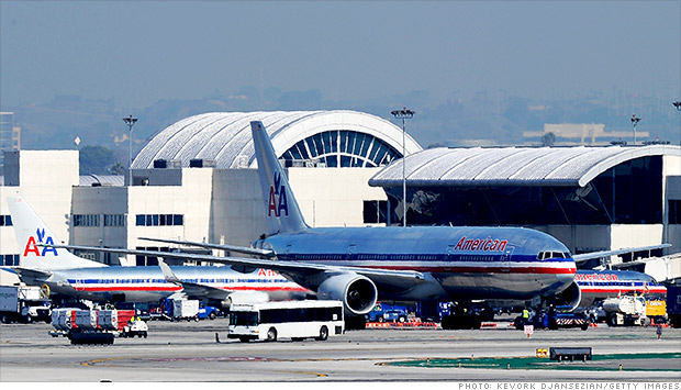 american airlines tarmac