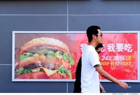 Economía: China ya no consume tanta comida 'chatarra'