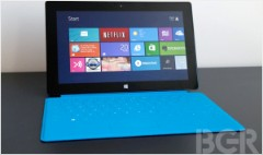 Microsoft Surface: Stunning hardware, sparse apps