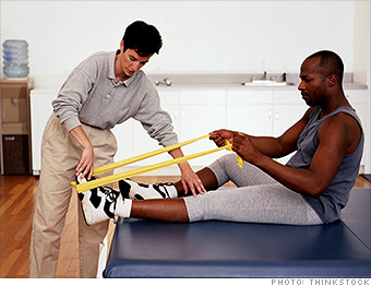 fastest growing jobs physical therapist