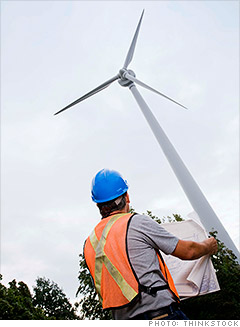 best new job swind turbine mechanical engineer