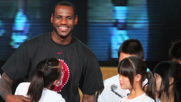 LeBron James on fame and money